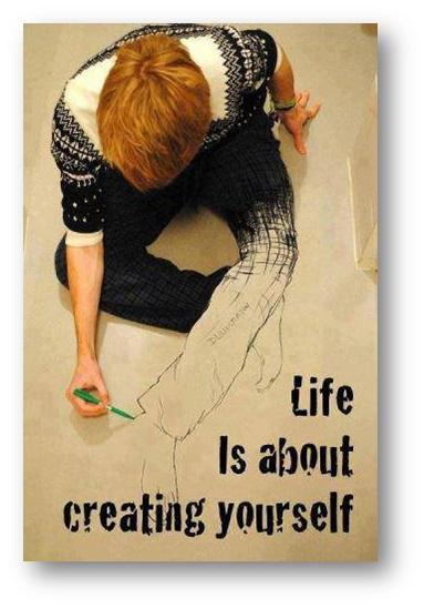Creación constante de ti mismo