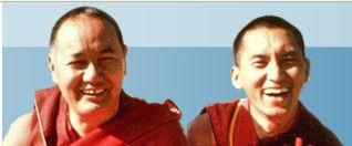 Lama Yeshe y Lama Zopa Rinpoche