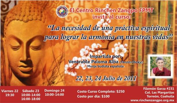 Ven. Paloma Alba en Torreon