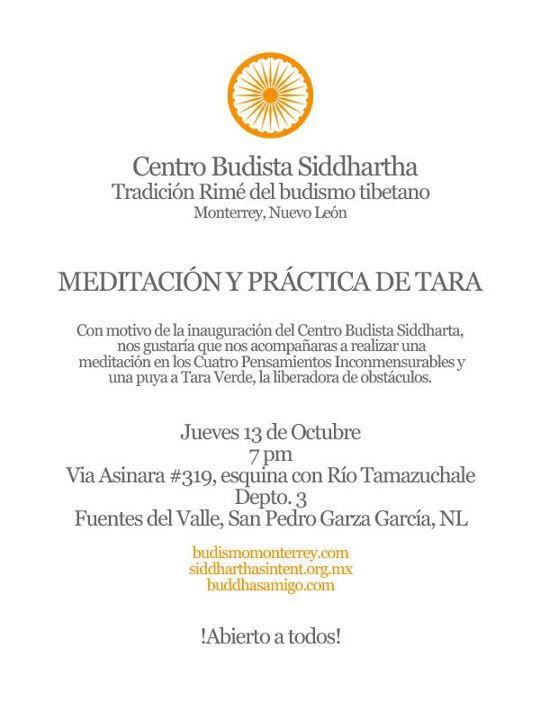 Centro Budista Siddhartha Monterrey