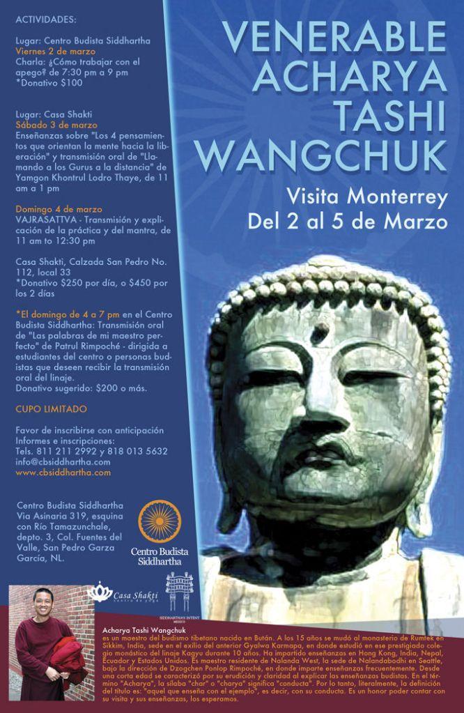 Venerable Acharya Centro Siddhartha Monterrey
